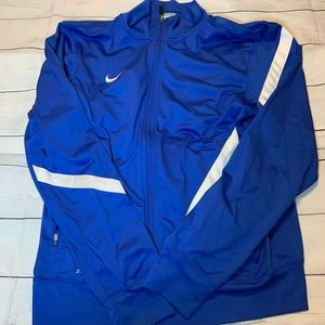 Royal blue nike lightweight jacket
